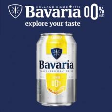 [무알콜] 바바리아 0.0% 레몬 (330ml,캔)