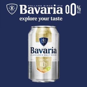 [무알콜] 바바리아 0.0% 진저라임 (330ml,캔)